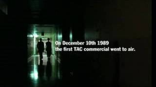 TAC 20 Year Anniversary TV ad montage 'Everybody Hurts'(On December 10th 1989 the first TAC commercial went to air. In that year the road toll was 776, by 2008 the road toll had fallen to 303. This five minute ..., 2009-12-09T03:44:06.000Z)