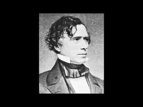 "1852 Presidential Election- ""Handsome Frank"" Elected President"
