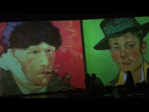 Van Gogh Multimedia Exhibition at Artplay Moscow