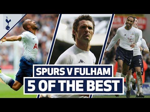 5 OF THE BEST | SPURS TOP 5 HOME GOALS V FULHAM | Ft. Lucas, Kanoute, Trippier, Keane & Anderton!