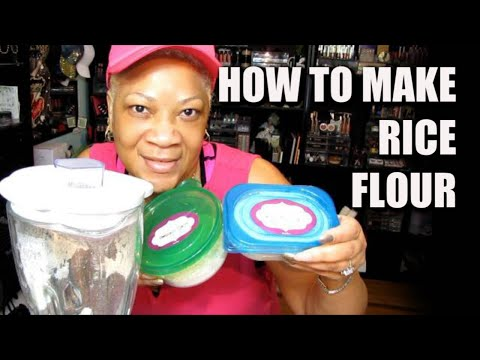 how-to-make-rice-flour-at-home-for-face-mask