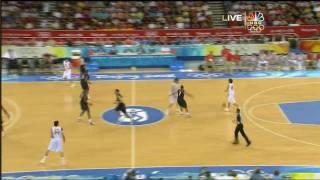 USA vs Spain Beijing 2008 - Gold Medal Game - 1st Half thumbnail