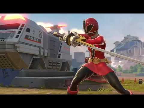 Download Power Rangers Battle for the Grid Lauren Shiba Red Samurai Ranger Gameplay