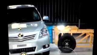 The NCAP | Toyota Verso | 2010 | Crash Test