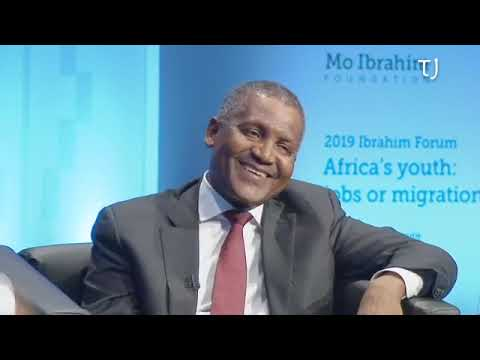 I Withdrew $10M In A Day To Confirm How Rich I Am - Aliko Dangote (Video)