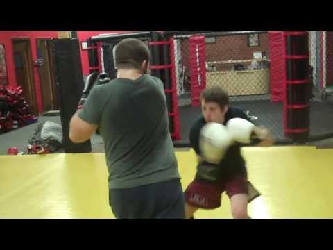 More muay thai kickboxing drills in Leominster Massachusetts at FAA