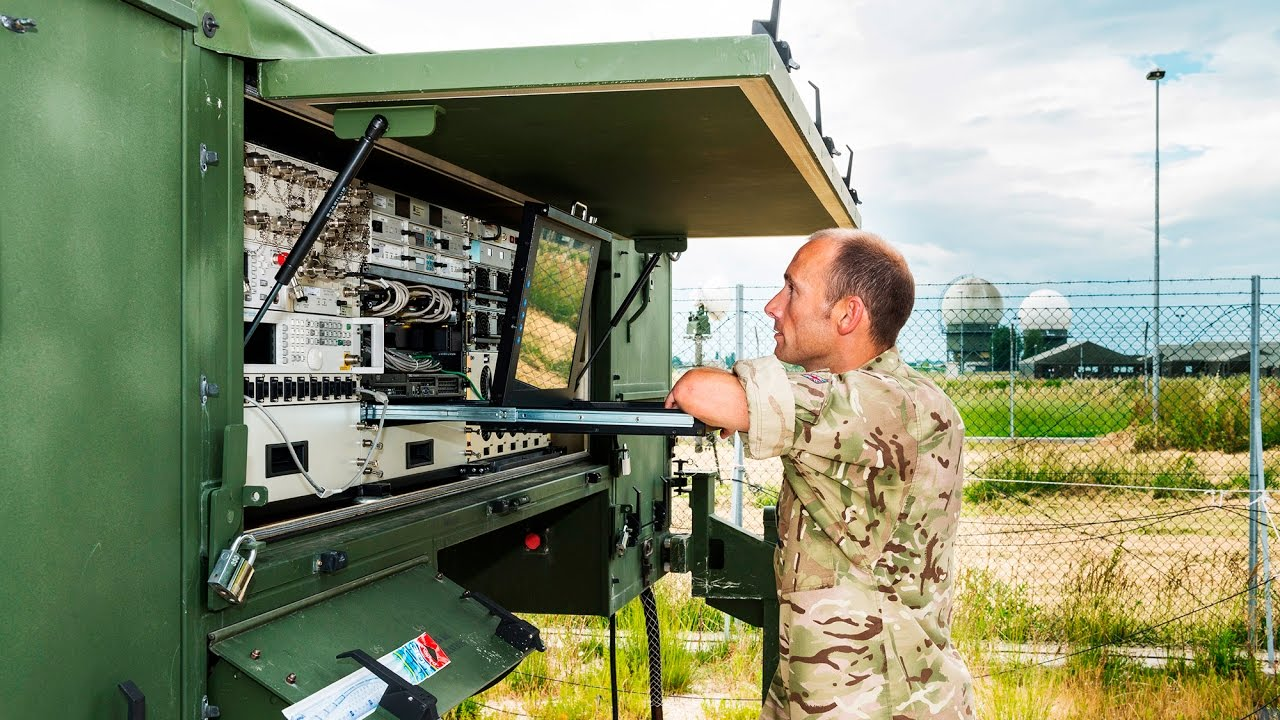 Introduction to the Deployable Air Command and Control Centre (DACCC) -  YouTube