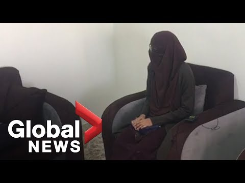 """EXCLUSIVE: ISIS bride confused why Canada hasn't given her a """"second chance"""""""