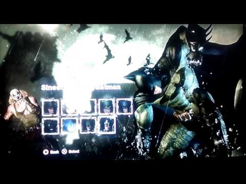 batman arkham city how to change skins