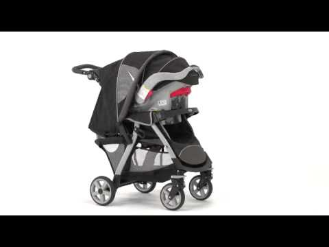Infant Car Seat Stroller Combo Graco LiteRider Classic Connect Review
