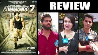 Commando 2 Public REVIEW - Vidyut Jammwal, Adah Sharma, Esha Gupta