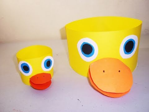 How to make a duck hat - EP - simplekidscrafts