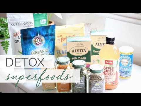 DETOX SUPERFOODS HAUL | Health Food Must-Haves