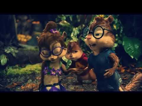 Alvin e os esquilos cantando Cheguei Pra te Amar Ivete Zangalo ft MC Livinho