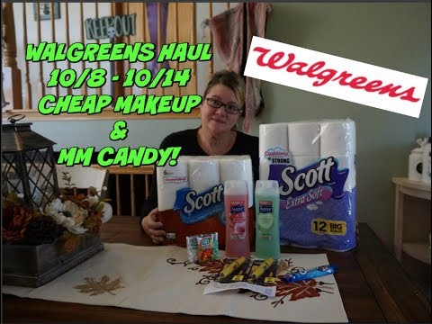 WALGREENS HAUL 10/8 - 10/14 | SUPER-CHEAP...
