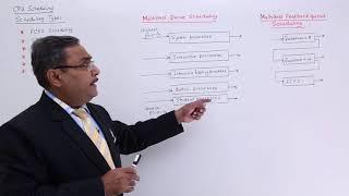 Multilevel Queue and Multilevel Feedback Queue Scheduling
