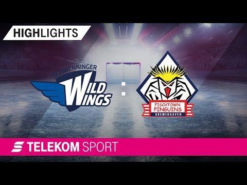Schwenninger Wild Wings - Pinguins Bremerhaven | 26. Spieltag, 18/19 | Telekom Sport