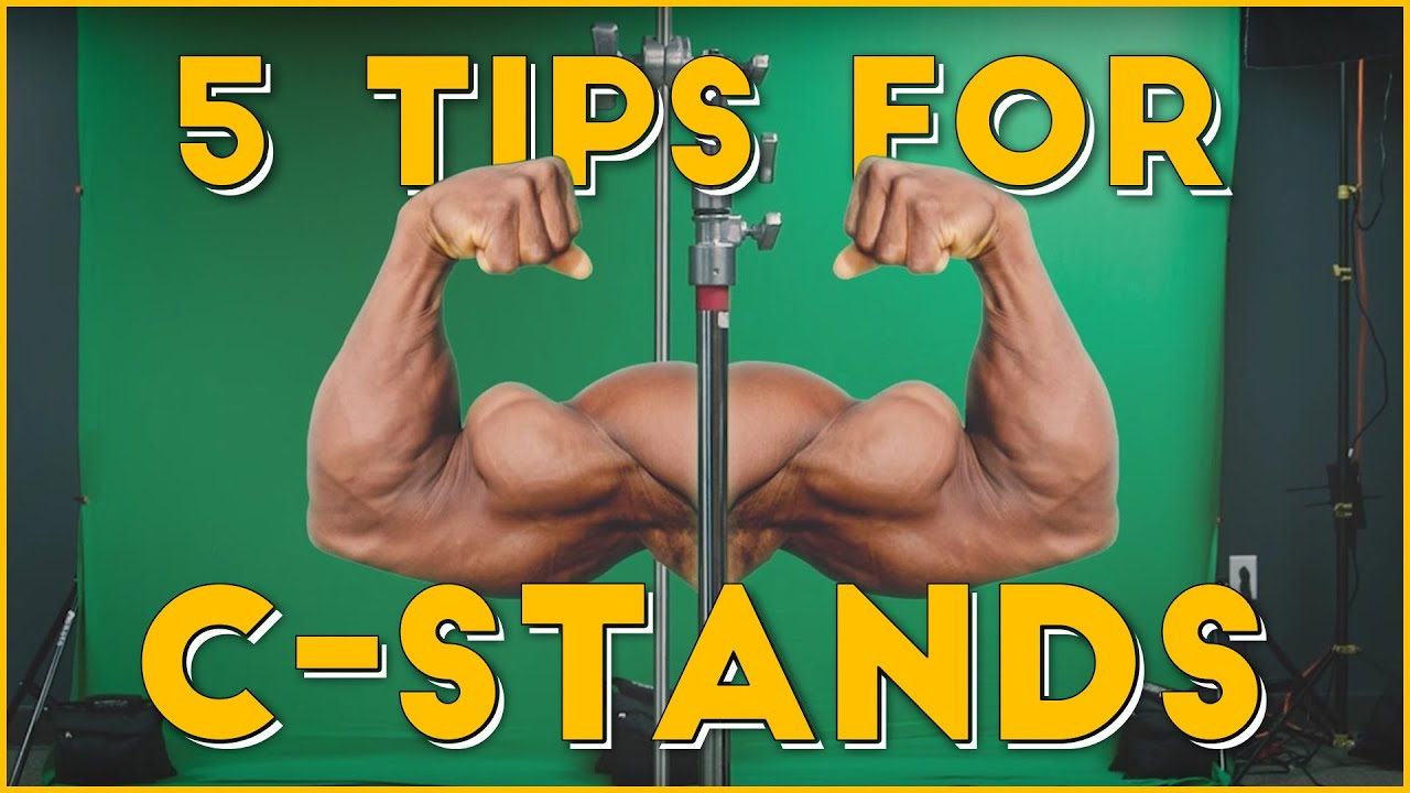 5 Tips For C-Stands & DIY Stop Sign Bounce