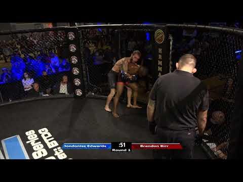 HRMMA 116 Fight 12 Brandon Birr vs Jodoniss Edwards 125 PRO