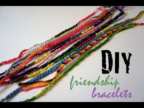 89721e16adbc7 DIY Friendship Bracelets - 3 Easy Designs for Beginners