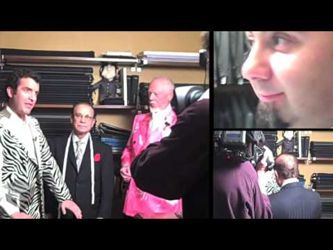 Rick Mercer gets a suit made at The Coop Ink in Toronto