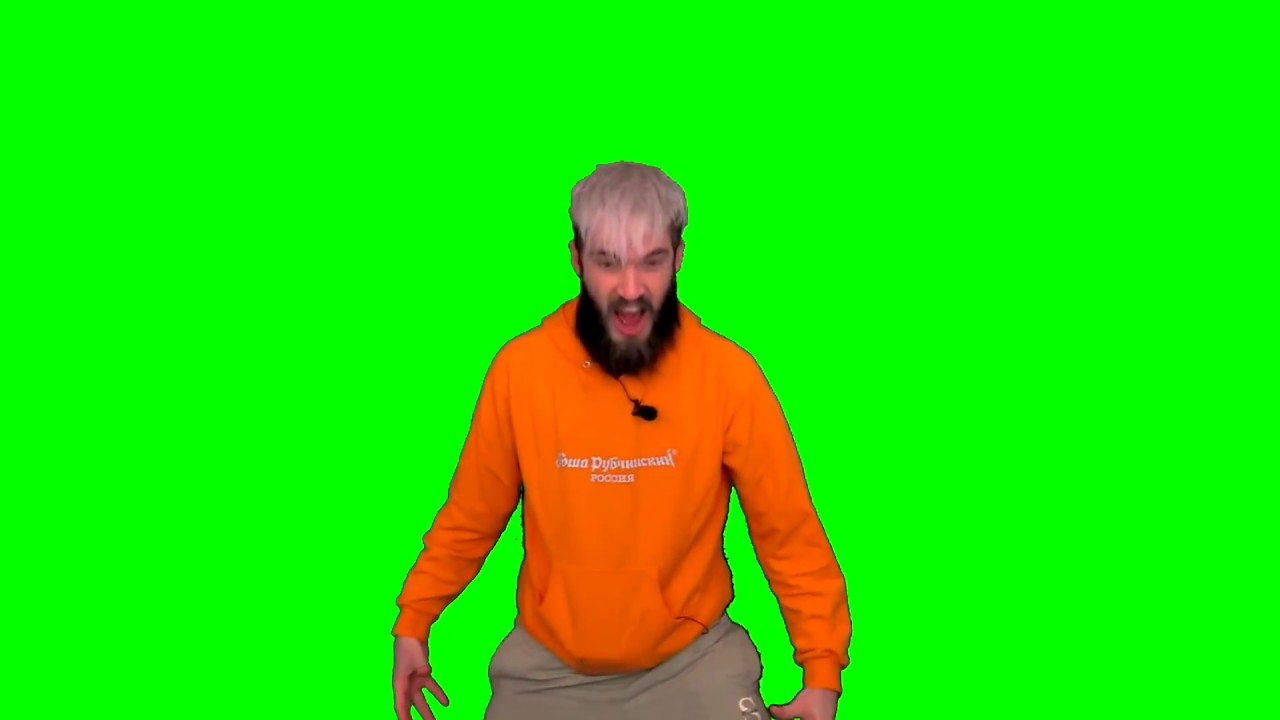 Pewdiepie Source Green Screen Compilation Competition 2018 Raw