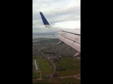United CO22 Landing Dublin Airport