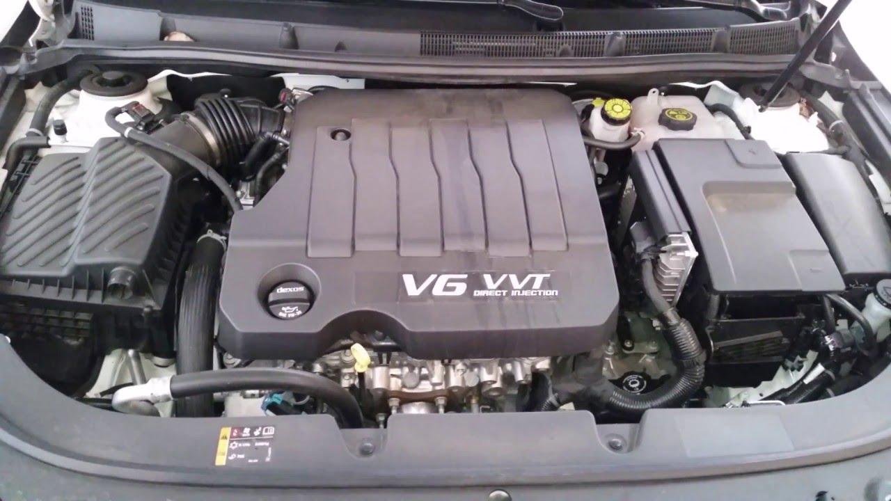 2012 2016 buick lacrosse lfx 3 6l v6 engine idling after oil filter change