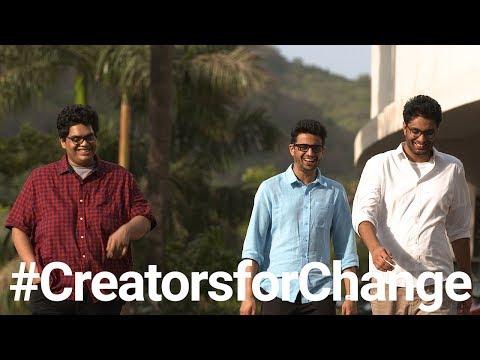 YouTube Creators for Change: AIB