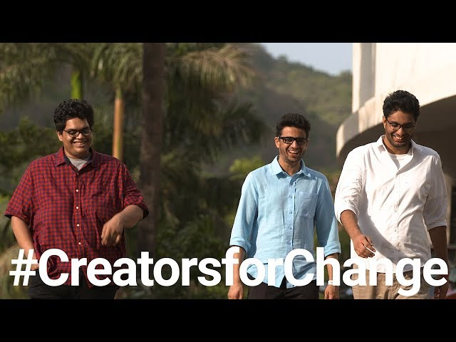 The VisualizED YouTube Creators for Change: AIB Youtube Videos