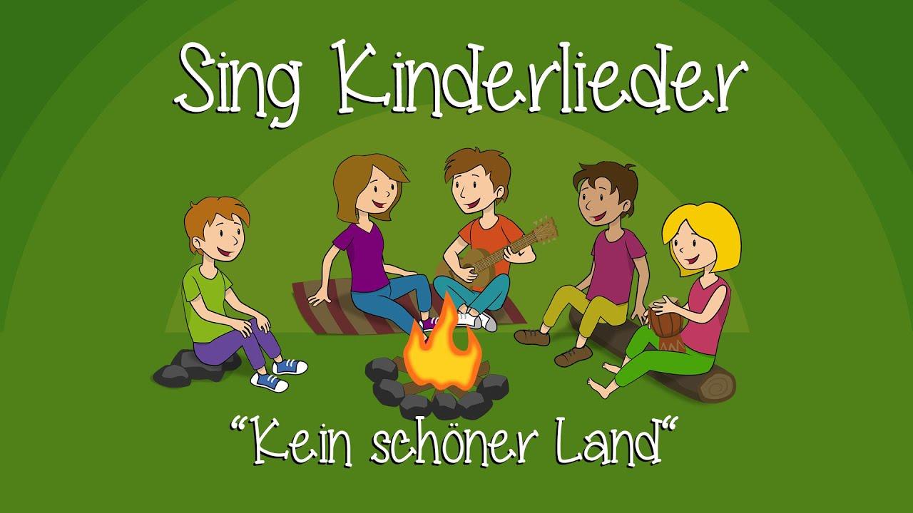 Kein schöner Land - Kinderlieder zum Mitsingen | Sing Kinderlieder