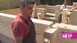 видео Дома из шпунтованного бруса