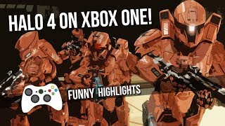 Throwback! Halo 4 on Xbox One highlights & funny moments