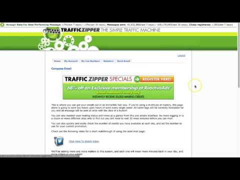TrafficZipper Account Setup