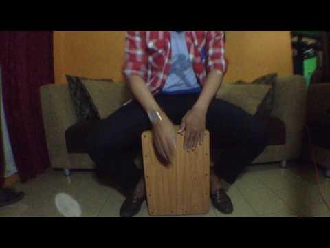 Adera - Lebih Indah Acoustic Version (Cajon Cover)