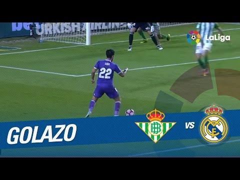 Golazo de Isco (0-5) Real Betis vs Real Madrid