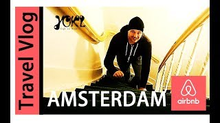 Gambar cover AMSTERDAM AIRBNB TOUR - Steep stairs, huge apartment