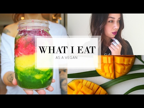 (a realistic) WHAT I EAT IN A DAY + mini kitchen tour // VEGAN & EASY | CelinaLiya