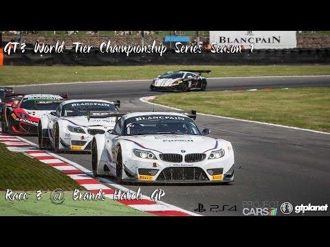 GT3 World Tier Championship Series Season 1 For PS4 | Race 3 @ Brands Hatch GP
