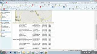 CRM OnDemand with Google Maps