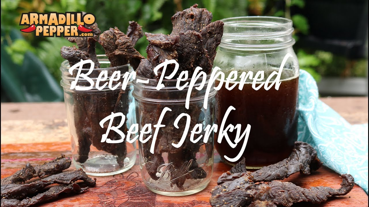 How To Make Beef Jerky In The Masterbuilt Smoker Beer