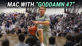 Mac McClung Goes For GODDAMN 47!!! Hurts Wrist From DUNKING TOO MUCH!