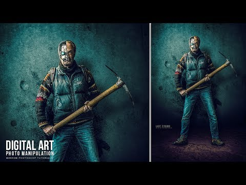 The Last Cyborg Photo Manipulation Effect Photoshop Tutorial