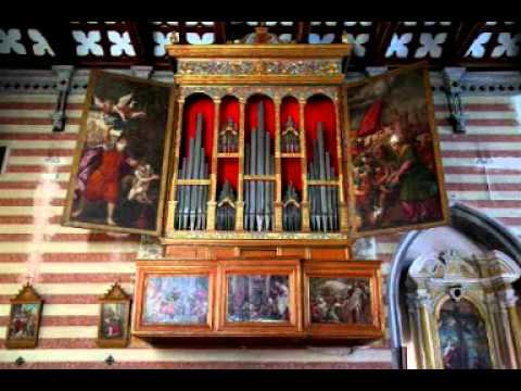 Toccata e fuga per organo di Albert Patron, organista Lorenzo Marzona