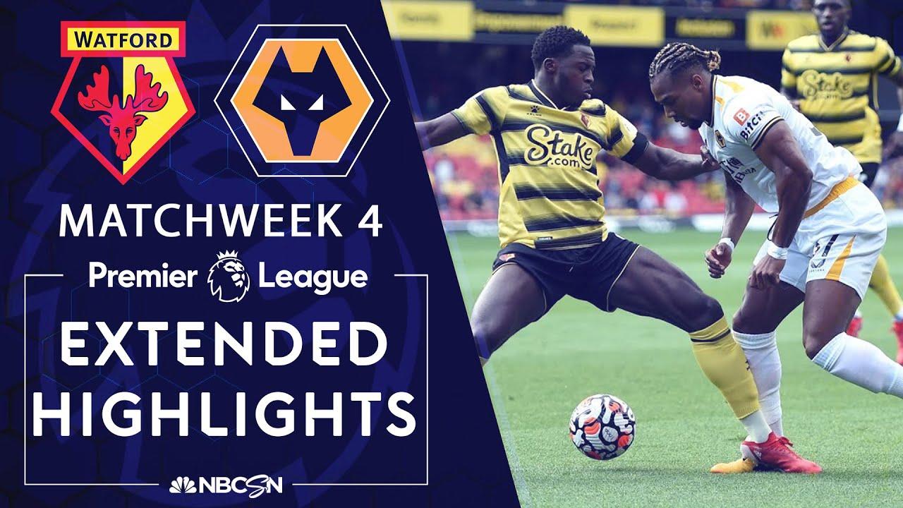 Download Watford v. Wolves   PREMIER LEAGUE HIGHLIGHTS   9/11/2021   NBC Sports