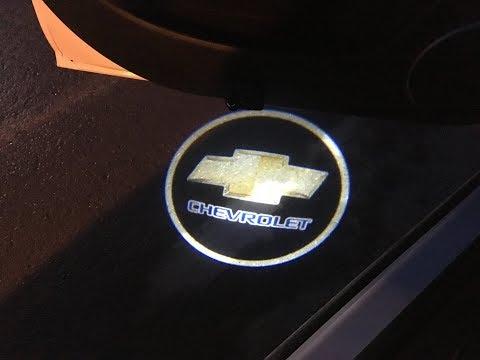 LED проектор логотипа Chevrolet для автомобиля с ALIEXPRESS