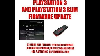 Install Playstation 3 Firmware New Hard Drive pt1