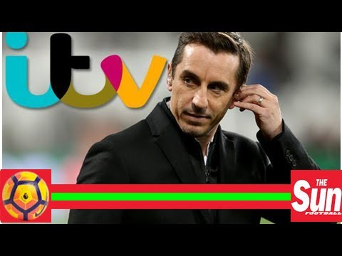 World cup 2018 news: sky sports pundit and former manchester united man gary neville lands himself