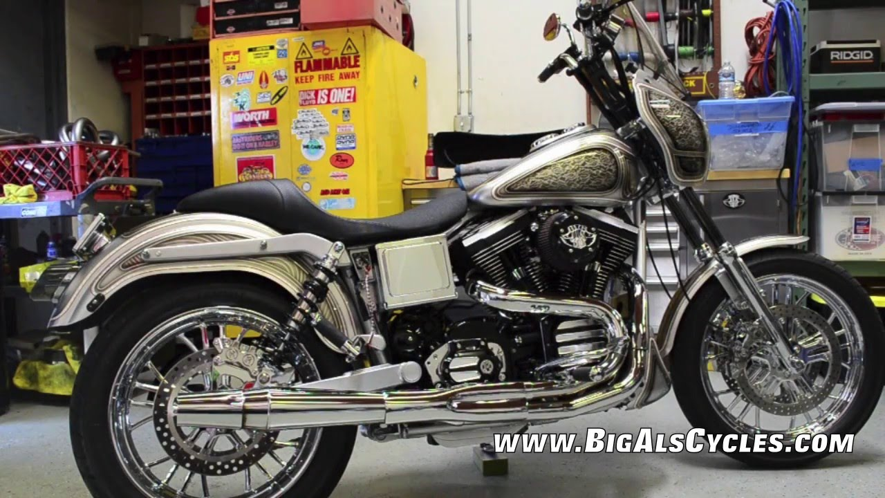 Als Quick Stop >> Big Als Cycles Silver Legacy FXDX-T Dyna - YouTube