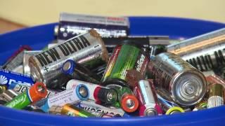 Куда сдавать использованные батарейки?